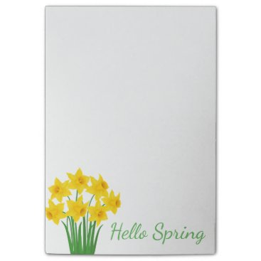 Beach Themed Post-it-Notes-Daffodils Post-it® Notes