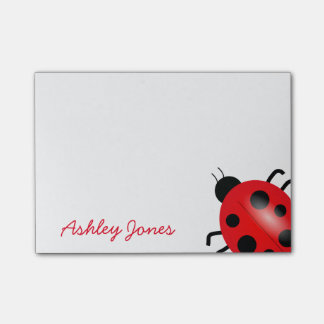 Post-it-Notes-Ladybug Post-it Notes