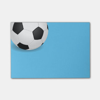 Post-it-Notes-Soccer Ball Post-it® Notes