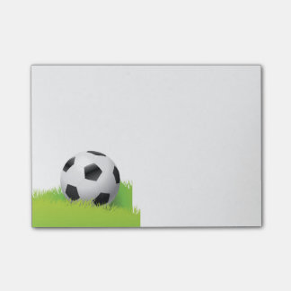 Post-it-Notes-Soccer Ball Post-it Notes
