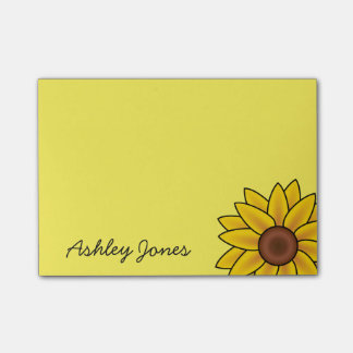 Post-it-Notes-Sunflower Post-it Notes