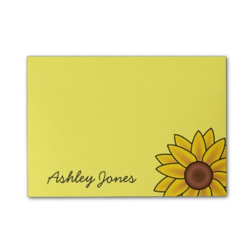 photographybydebbie Post-it-Notes-Sunflower Post-it Notes