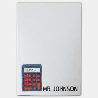 Post-it personalizado del regalo del profesor de notas post-it®