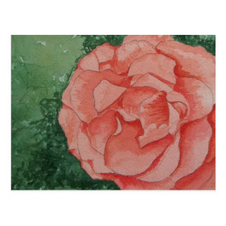Post it Rose Postcard