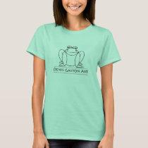 Post Modern Frog T-Shirt from Denis Gaston Art