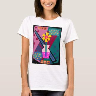 Post Modern Mod Flower T-Shirt