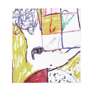 Post Moderne Mundi Note Pad
