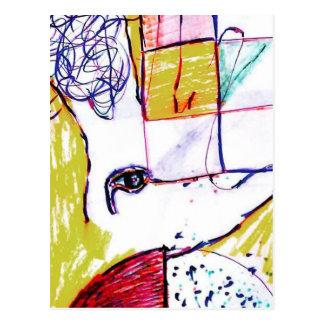 Post Moderne Mundi Postcard