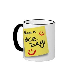 Post NICE DAY - mug mug