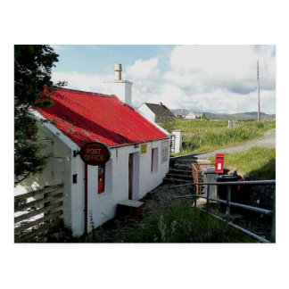 Post Office, Balallan, Isle of Lewis, Scotland Postcard