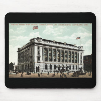 Post Office Cleveland Ohio 1910 Vintage Mouse Pad