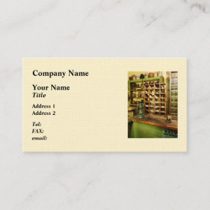 Post office business cards templates zazzle post office in general store business card colourmoves
