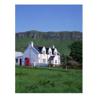Post Office, Linicro, Isle of Skye, Highlands, Postcard