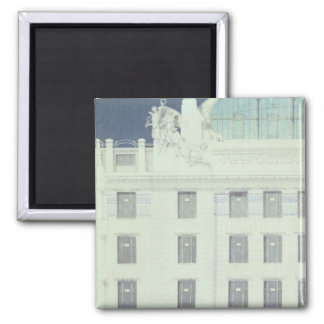Post Office Savings Bank, Vienna 2 Inch Square Magnet