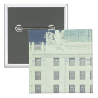 Post Office Savings Bank, Vienna 2 Inch Square Button