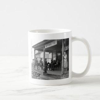 Post Ofice at Nethers, 1935 Coffee Mug