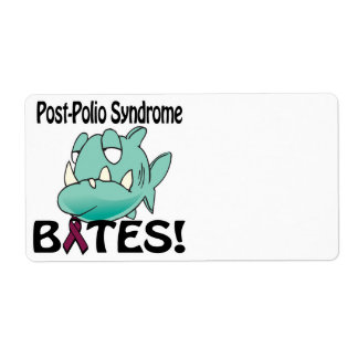 Post-Polio Syndrome BITES Shipping Label