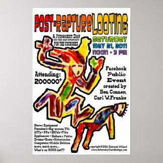 Post-Rapture Looting Poster