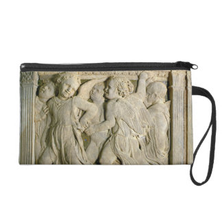 Post-restoration panel No.I from the exterior pulp Wristlet Purse
