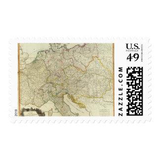Post roads Germany, Hungary Postage