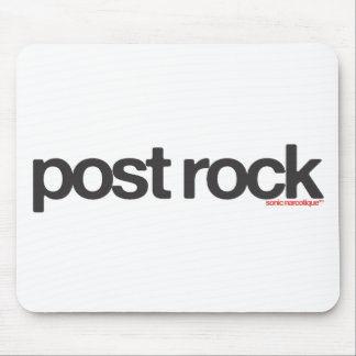 Post Rock Mouse Pad