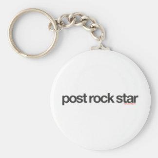 Post Rock Star Keychain