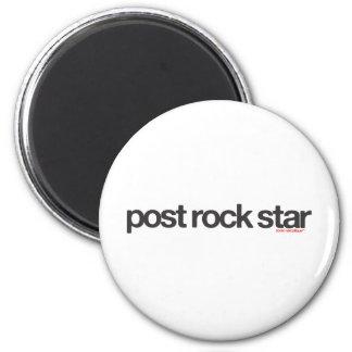 Post Rock Star 2 Inch Round Magnet
