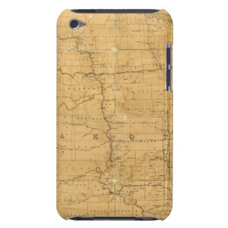 Post route map of the Territory of Dakota Barely There iPod Cover