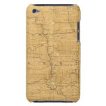 Post route map of the Territory of Dakota iPod Touch Case