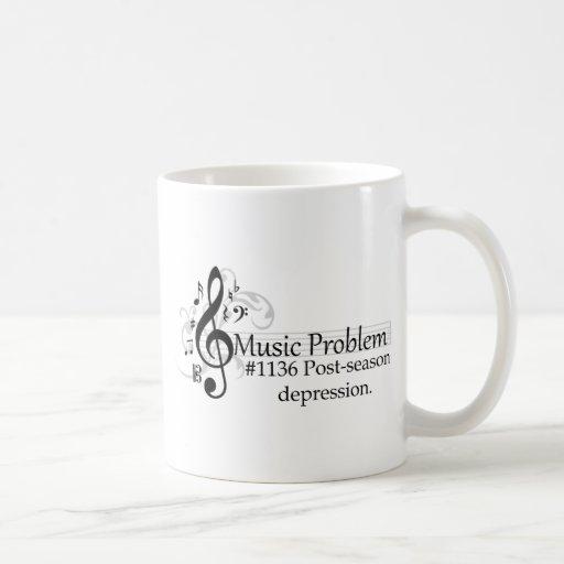 Post-season depression. classic white coffee mug