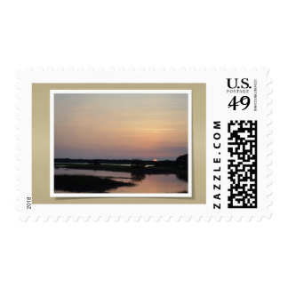 Post-stamp with an image of Southern Sunset Stamp