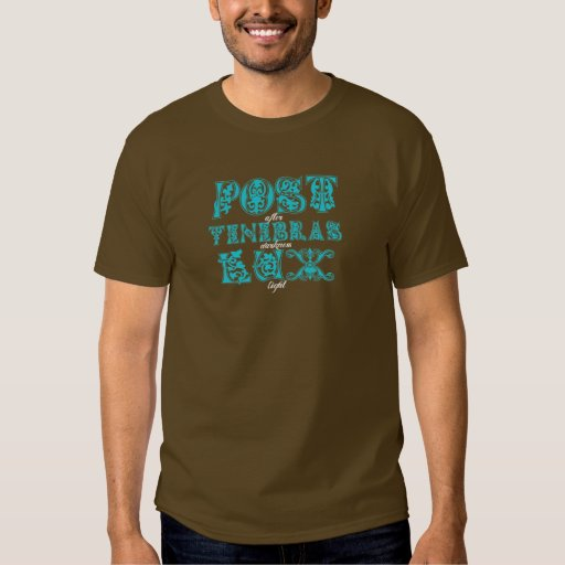 Post Tenebras Lux / Five Solas T-Shirt