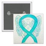 Post-Traumatic Stress Disorder Awareness Angel Pin