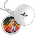Post Urban Obama Necklace