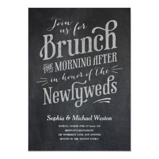 Post Wedding Brunch Invitations