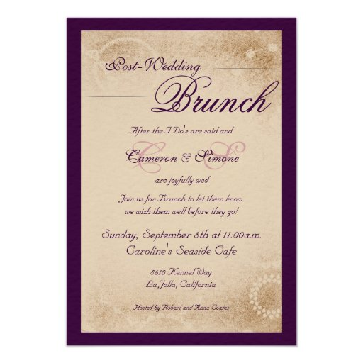 Post Wedding Invitations is an amazing ideas you had to choose for invitation design