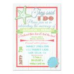 "Post Wedding Reception 5"" X 7"" Invitation Card"