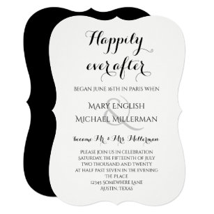 after wedding invitations zazzle