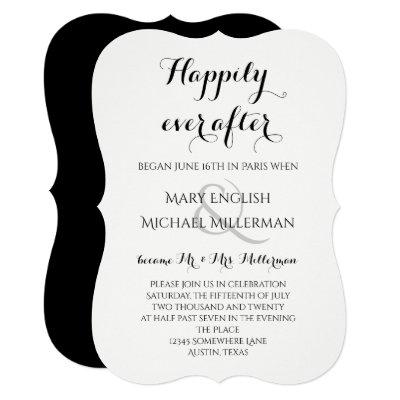 Post Wedding Reception Invitations | Zazzle.com
