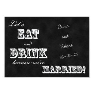 Post Reception Wedding Invitations   Zazzle