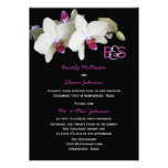 Post Wedding Reception Invitation, Orchids Invite