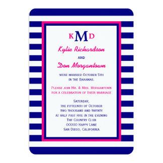 post wedding reception invitations & announcements   zazzle, Wedding invitations
