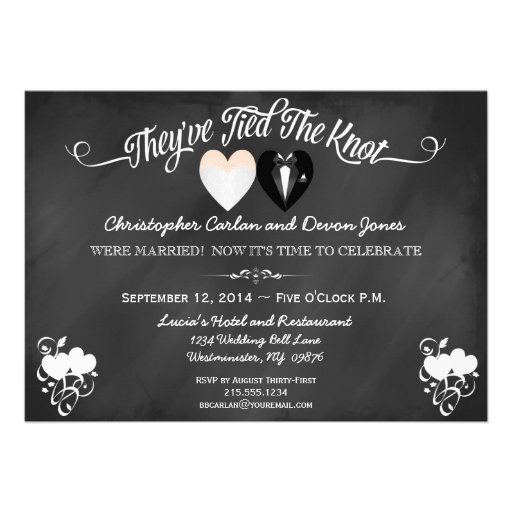 Post Wedding Invitations can inspire you to create best invitation template