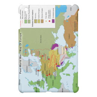 Post World War I Map of Europe iPad Mini Covers