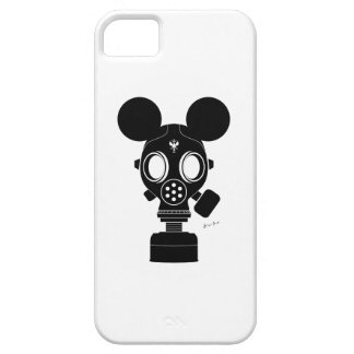 Post World Zuno : Gas Mask 01 iPhone SE/5/5s Case