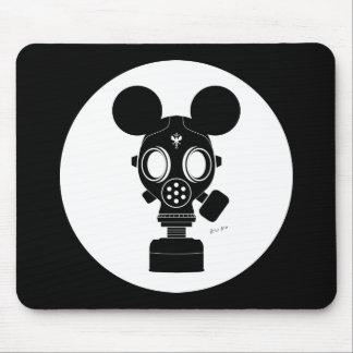 Post World Zuno Gas Mask 01 Mouse Pads