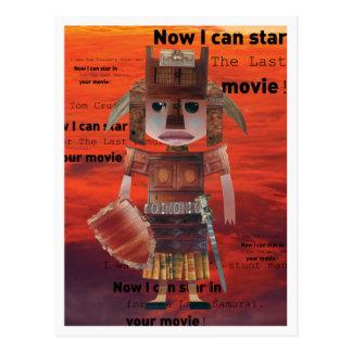 Postacard Samurai Warrior Postcard
