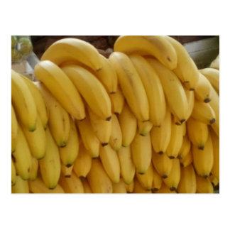 Postacard with Bananas Postcard