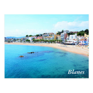 Postacrd with Blanes city Postcard
