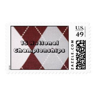 Postage 15 National Championships